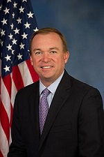 Mick Mulvaney, Director of the Office of Management & Budget (OMB)