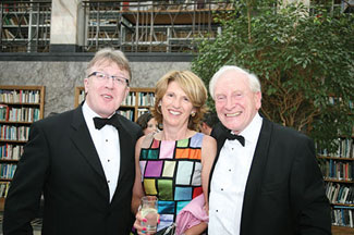 Michael & Mairéad Greene with Roddy Feely.