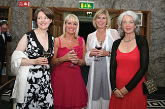The splendid occasion was enjoyed by Sinead O'Doherty of Gerry Lombard Public Relations, Ita Cadwell, Lisa Wall and Kathy Carrigan.