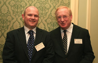 James McGettigan attended the lunch with Jim Nugent of Pragma Management Services.