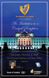 Council Hosts Lecture/Reception at Stormont in Belfast