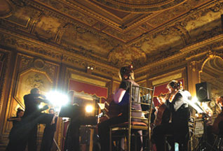 The Orchestra in concert.