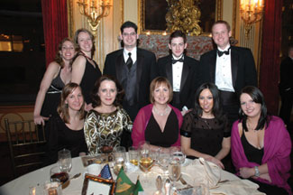 Colleagues of event-supporter Diarmuid Hogan at Global Excess Partners enjoyed the occasion.