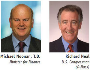 Guest Speakers for Council Lunch Minister for Finance, Michael Noonan, TD Plus U.S. Congressman Richard Neal