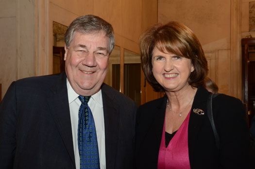 Ms. Joan Burton, TD at The Ireland US Council 2012 St. Patrick's Lunch