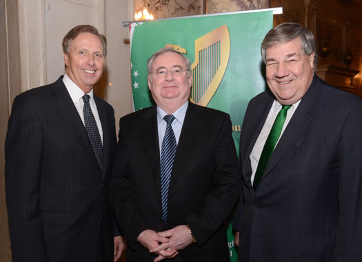 Council Marks 2013 St. Patrick's Festivities with New York Lunch Event