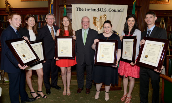 Ireland U.S. Council's 2014 Scholarship Awards Lunch in New York