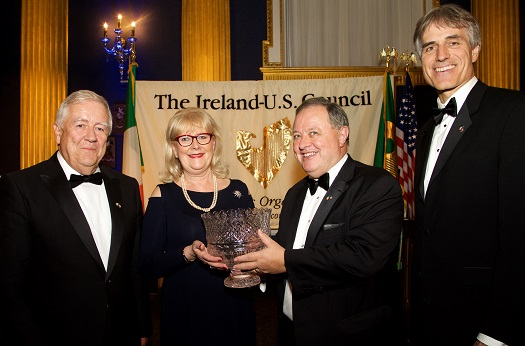 Ireland-U.S. Council's MidSummer Gala in Dublin Castle Honors Pwc's Marie O'Connor
