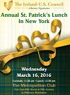 Council's Saint Patrick's Luncheon in NYC - Reserve Now