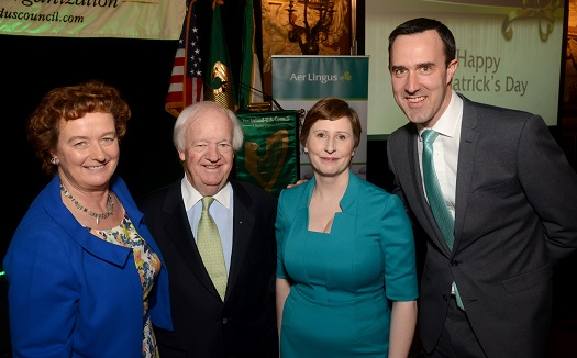 Ireland-U.S. Council's 2016 Saint Patrick's Lunch in New York