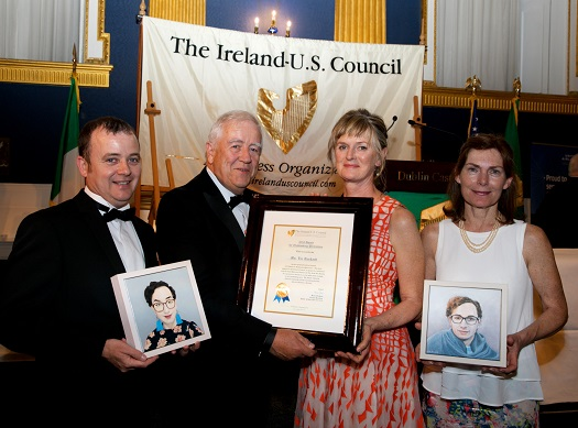 The Ireland-U.S. Council's 2018 2018 MidSummer Gala Dinner at Dublin Castle