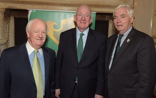 The Ireland-U.S. Council's 2019 St. Patrick's Lunch was held in New York on March 15