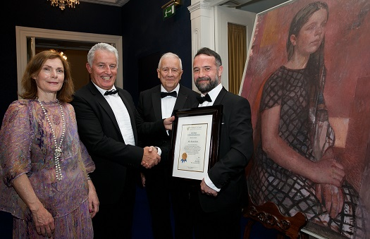 Council's Gala MidSummer Dinner in Dublin Castle Features Award for Outstanding Portraiture