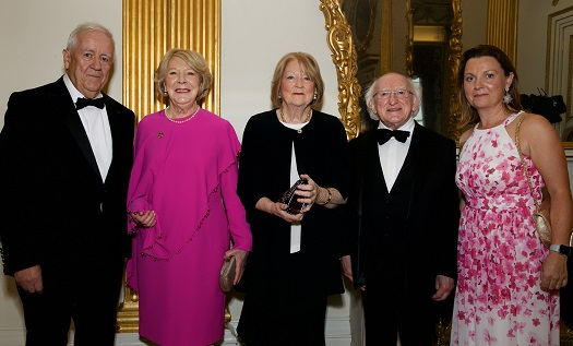 President of Ireland Michael D. Higgins Guest of Honor at Ireland-U.S. Council Dinner in Dublin Castle