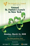 2020 Saint Patrick's Luncheon - Reserve Now